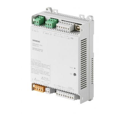 dxr2.m09t-101a комнатный контроллер bacnet ms/tp, ac 230 в (1 di, 2 ui,5  do, 1 ao) siemens BPZ:S55376-C117