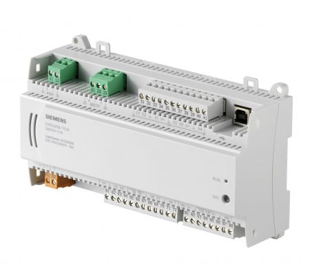 dxr2.m18-101a комнатный контроллер bacnet ms/tp, ac 24в (2 di, 4 ui,8  do, 4 ao) siemens BPZ:S55376-C113