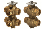 VWG41.20-0.65-1.0 6-ходовой регулирующий шаровой клапан SIEMENS